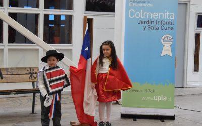 Colorida fiesta criolla protagonizaron niños del Jardín Infantil Colmenita