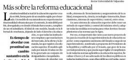 Más sobre la reforma educacional_rector UPLA