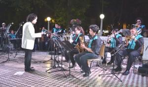 Big Band UPLA en Plaza de Armas San Felipe