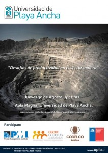 Afiche Estu. Ingen Civil Industrial