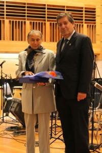 Nelly Orellana y Patricio Sanhueza