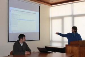 Presentación estudiantes informática UPLA