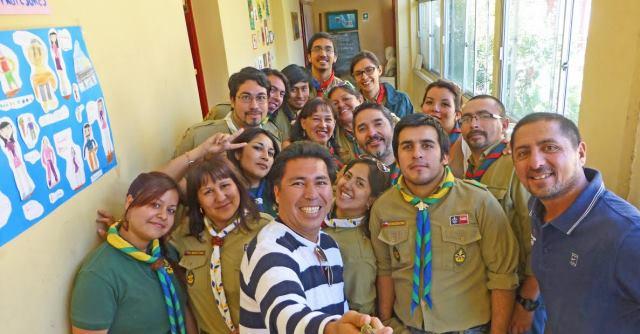 UPLA apoya trabajo de scout de valparaiso