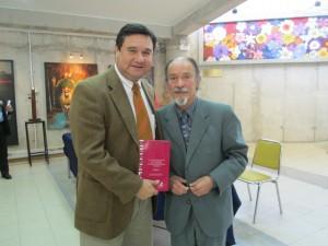 Oscar Quiroz y decano de Act,. física