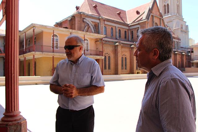 Marcos Muñoz y Exequiel Cortés