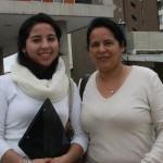 Tamara Jorquera y Marcela Montcinos