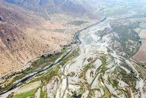 Río Aconcagua.