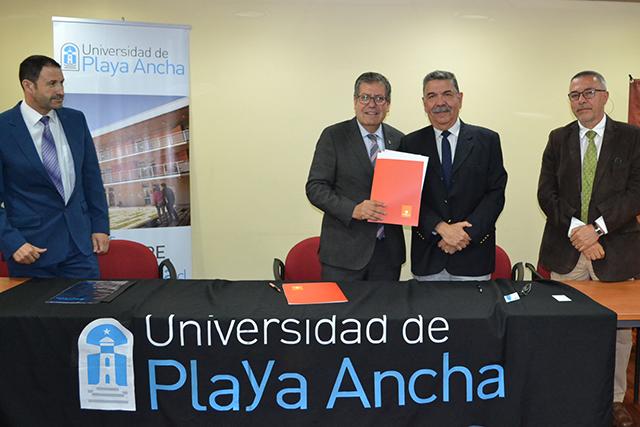 Convenio de cooperación División Andina de Codelco Chile-UPLA