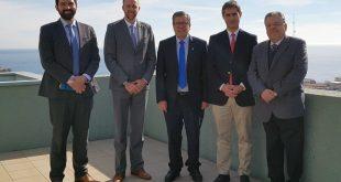 Cristian Blanco, David Julien, Patricio Sanhueza, Marcel Thezá y Daniel López
