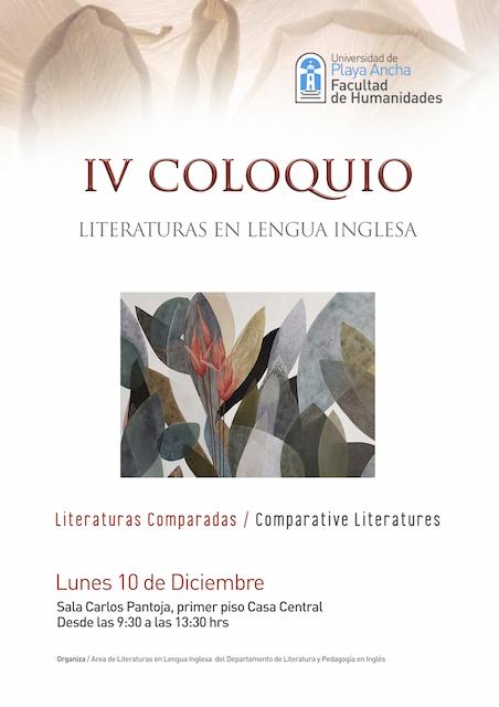 IV Coloquio de Literaturas en Lengua Inglesa