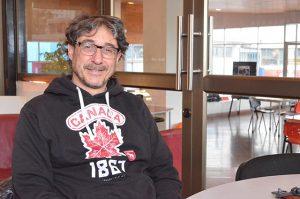 Marcelo Islas, académico de la Facultad de Arte de la Universidad de Playa Ancha