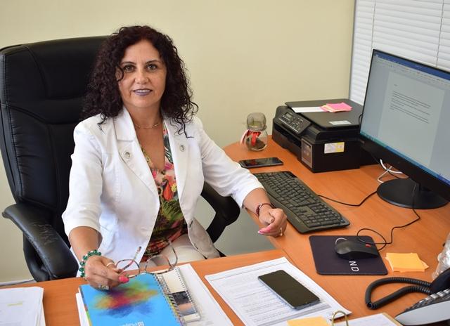 Directora General de Pregrado UPLA, Ivonne Fuentes.