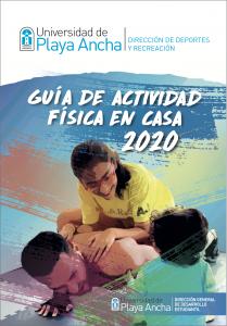 Universidad de Playa Ancha - Dirección de Deportes y Recreación: Guía de actividad física en casa 2020