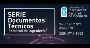 Revista: Serie documentos técnicos - Facultad de Ingeniería UPLA
