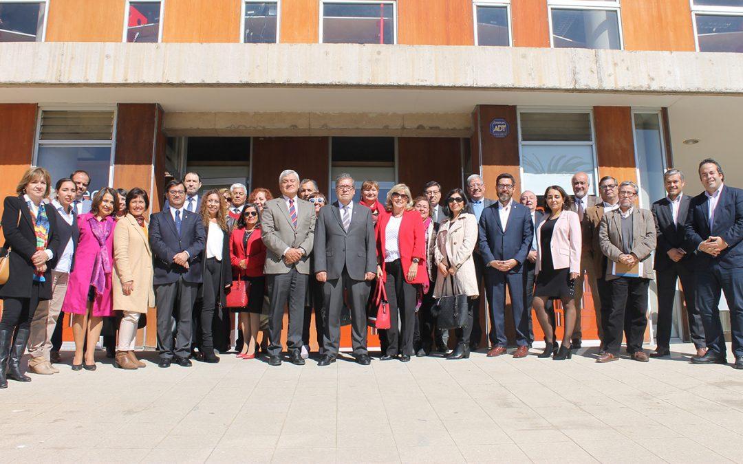 Rector Sanhueza presentó a nuevo equipo de gestión UPLA 2018-2022