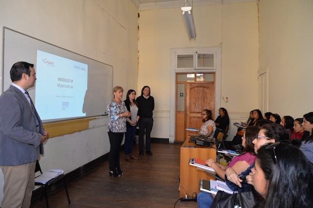 OTEC UPLA inició curso de Administración de Inventario en Valparaíso y San Felipe