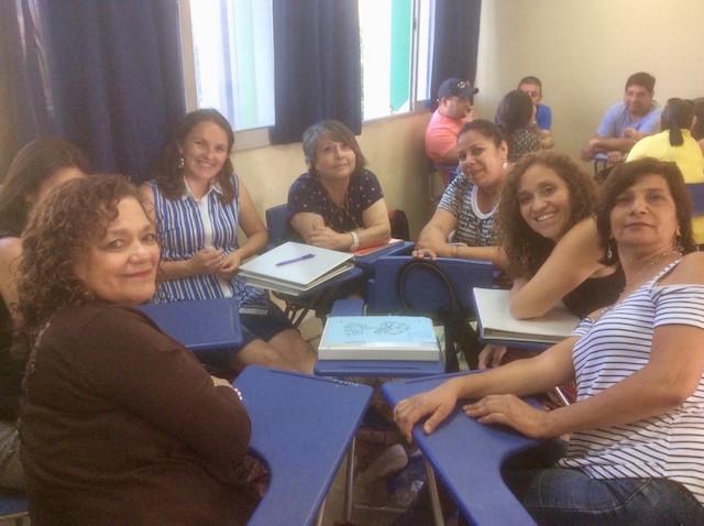 OTEC UPLA imparte cursos de capacitación a docentes del sistema en San Felipe