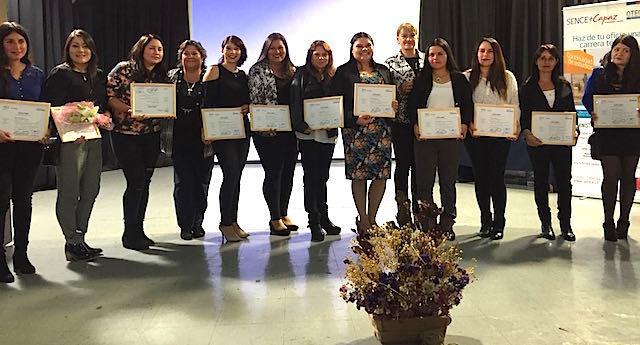 OTEC UPLA certificó a 20 estudiantes de Administración de Inventario en La Ligua