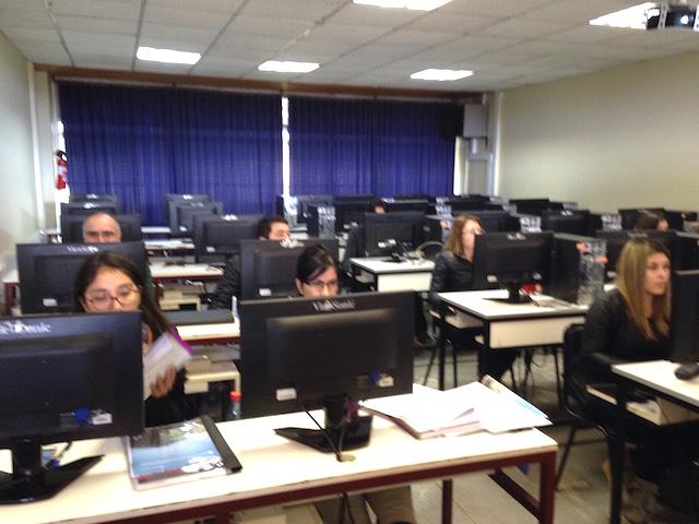 OTEC UPLA capacitó a trabajadores de Trans Factor en Excel Intermedio