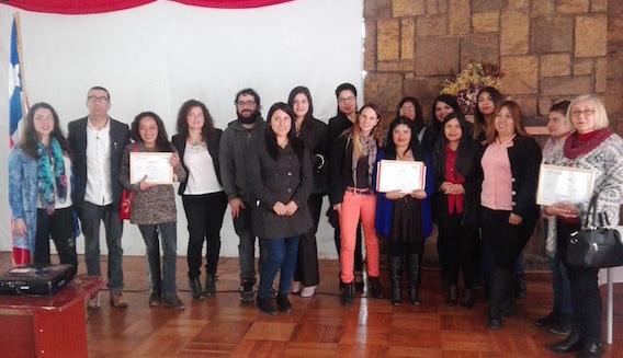 OTEC UPLA certificó a nuevos administradores de inventario en La Calera