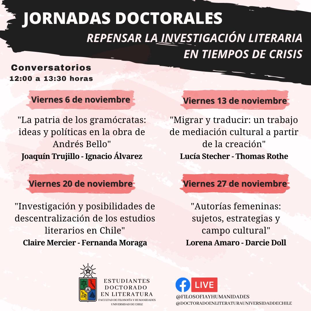 Jornadas doctorales