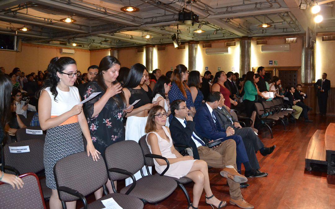 Campus San Felipe tituló a 113 nuevos profesionales