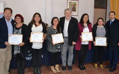 OTEC UPLA certificó a jefas de hogar de la comuna de Catemu