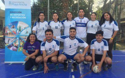 En San Felipe se realizó torneo de futsal mixto
