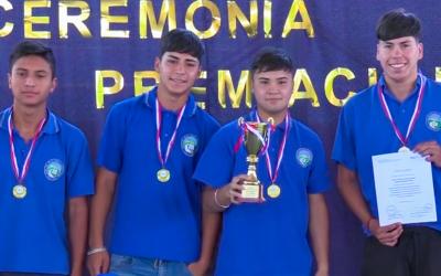 Liceo de Calle Larga se coronó campeón de Liga de Fútbol organizada por el campus San Felipe de la UPLA